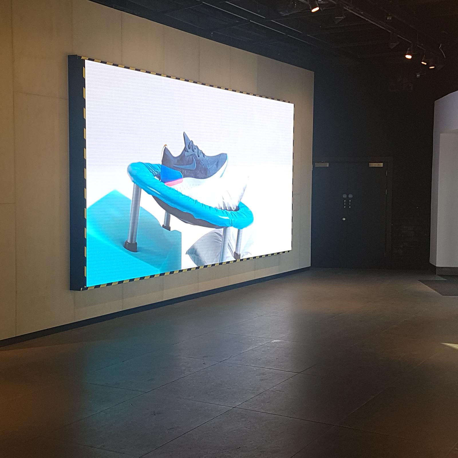 Videowall Nike winkel