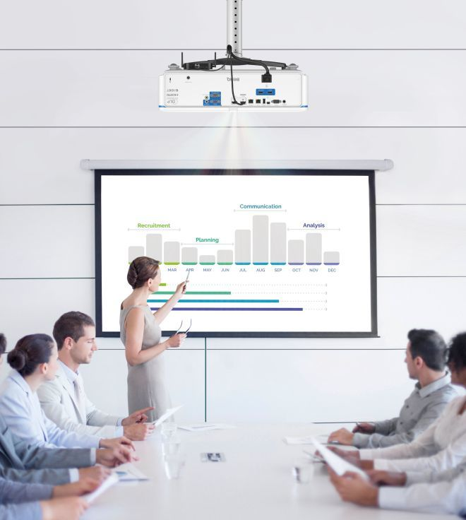 BlueCore laser projector