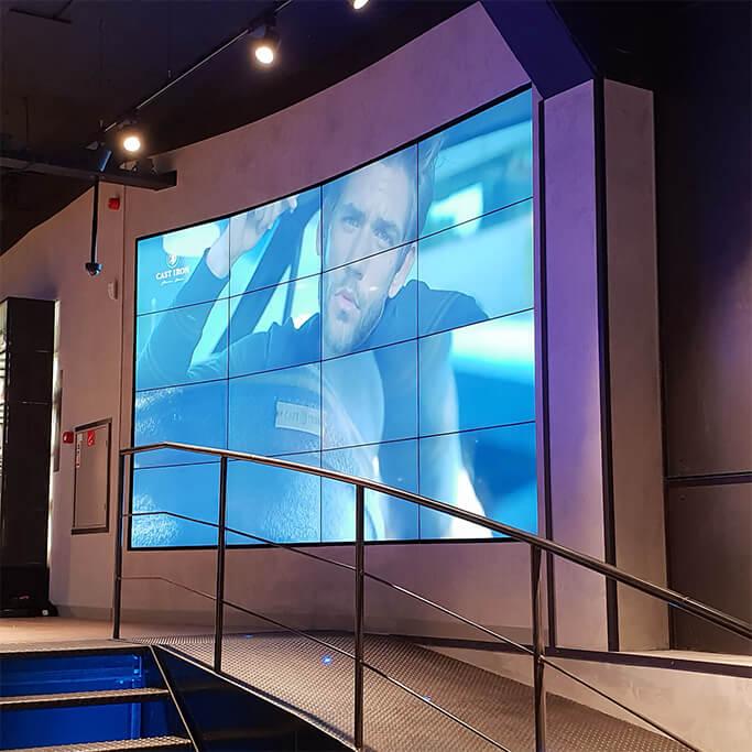 Videowall PME winkel